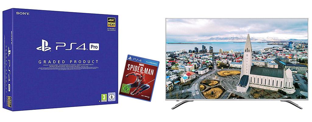 Amazon Cyber Week: PS4 Pro Generalüberholt im Bundle für 299,99 Euro