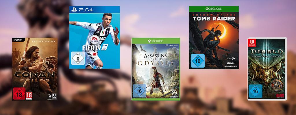 Amazon Cyber Week: Bis zu 50% Rabatt auf Spiele für PC und Konsolen