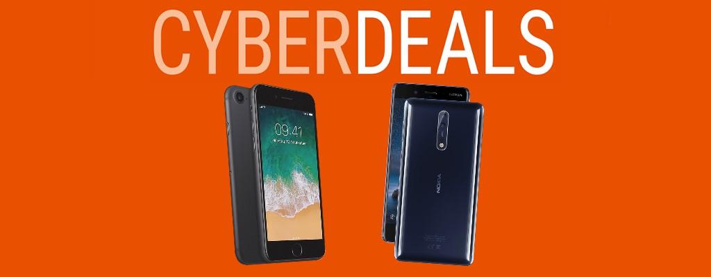 Cyberdeals bei Cyberport: Nokia 8, iPhone 7 und mehr reduziert