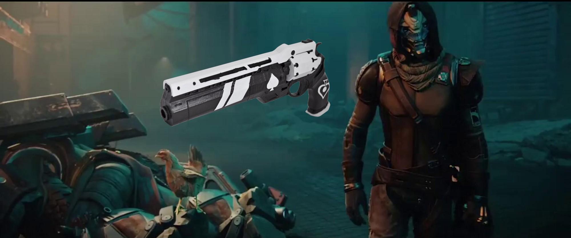 Destiny 2 huldigt dem Huhn seines Heldens, Cayde-6