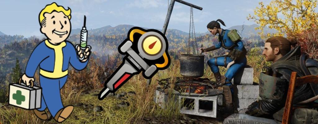Fallout 76: So findet Ihr die Blaupause für Stimpaks und stellt sie her