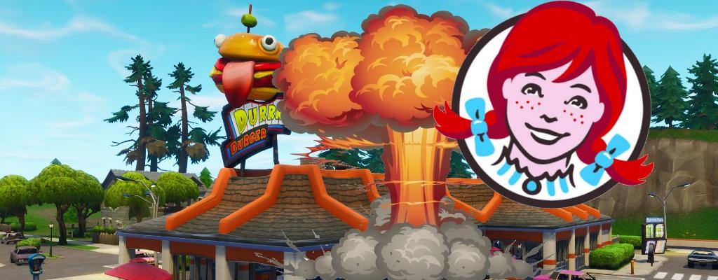 Fortnite: Burgerkette erklärt Durrr den Krieg, vernichtet Restaurant