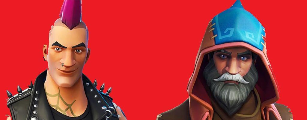 Diese neuen Skins gibt's bald in Fortnite – 5 Outfits mit Magiern und Punks