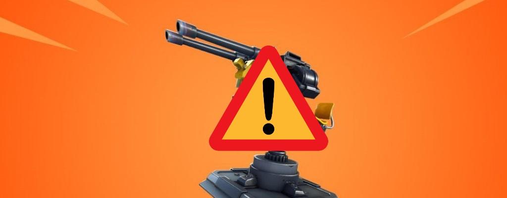 Der neue Geschützturm dominiert Fortnite – Trotz Nerf noch zu stark