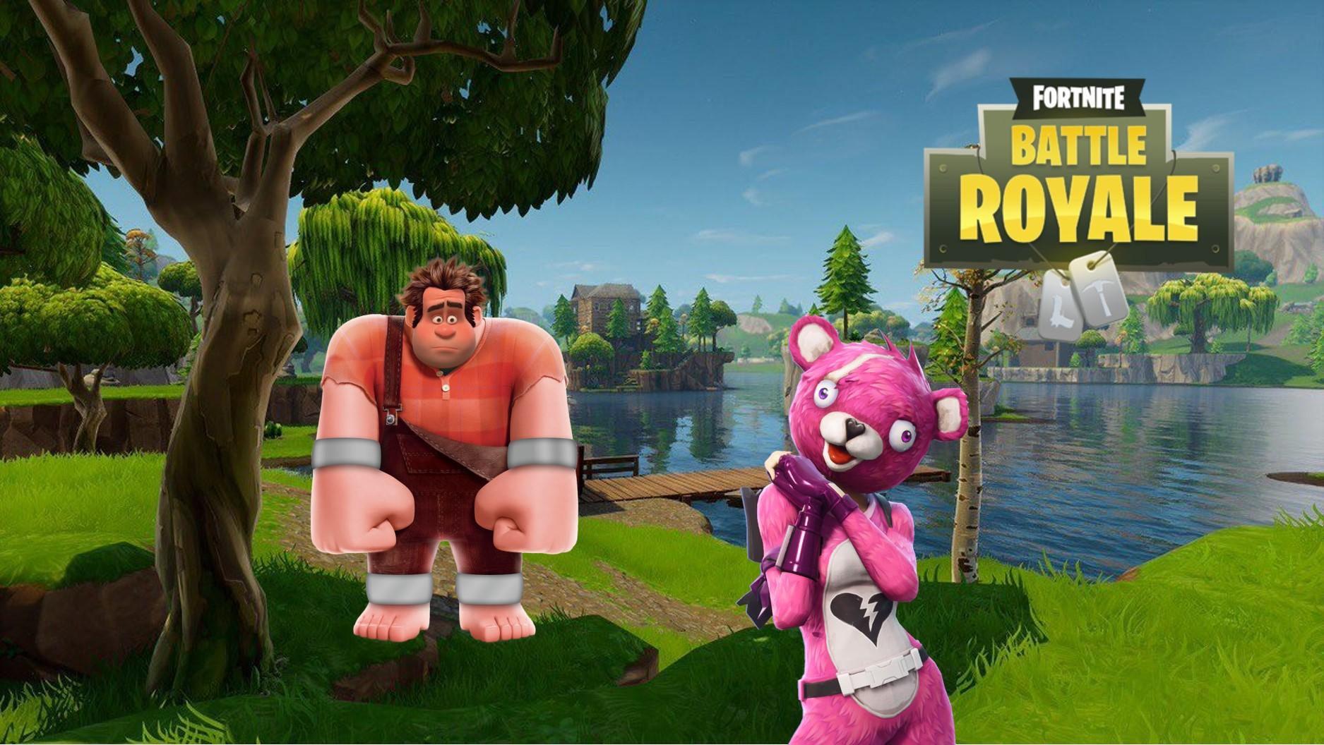 Ralph reicht es wohl bald auch in Fortnite: Battle Royale