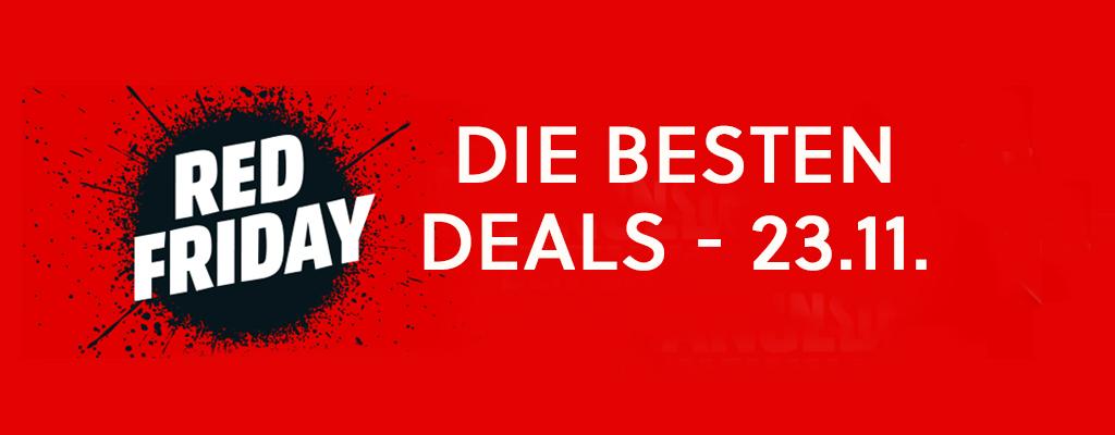 Red Friday, Black Weekend, Amazon – Die besten Angebote am Black Friday