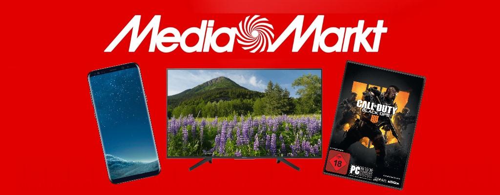 MediaMarkt: Smartphone- und TV-Rabatte plus Gaming-Aktion