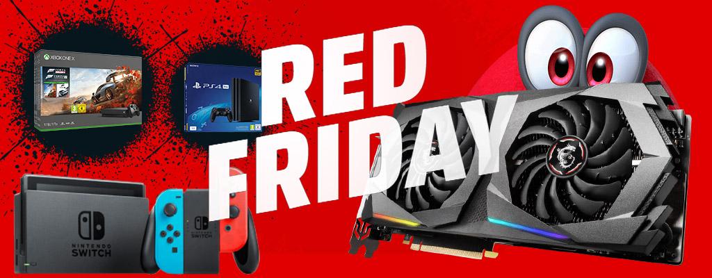 MediaMarkt Red Friday: Die besten Angebote für PC, TV und Konsolen