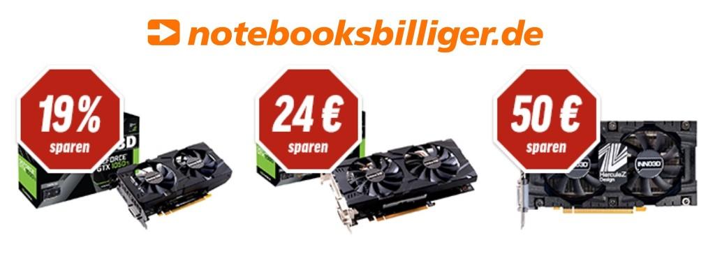 Notebooksbilliger.de verkauft GeForce-Grafikkarten zum Bestpreis