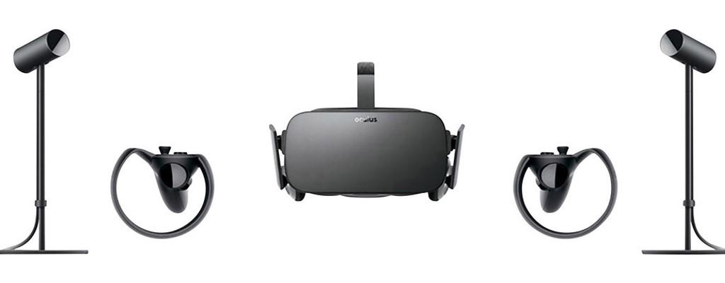 Oculus Rift mit Controllern bei Amazon und Conrad um 50 € vergünstigt