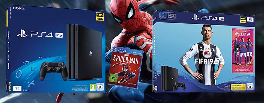 Amazon Cyber Week Angebote: PS4 Pro CUH-72168 Bundle zum Bestpreis