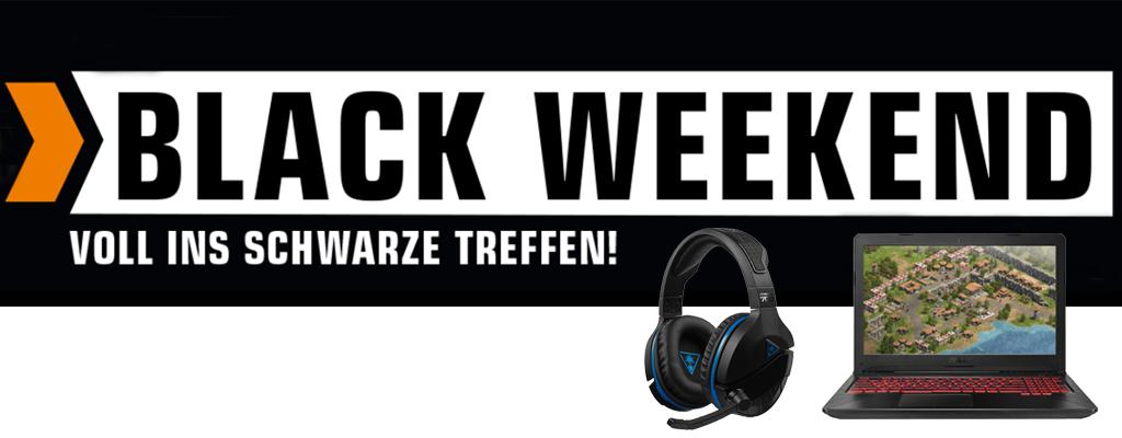 Saturn Black Weekend – Headsets, Laptops und Konsolen