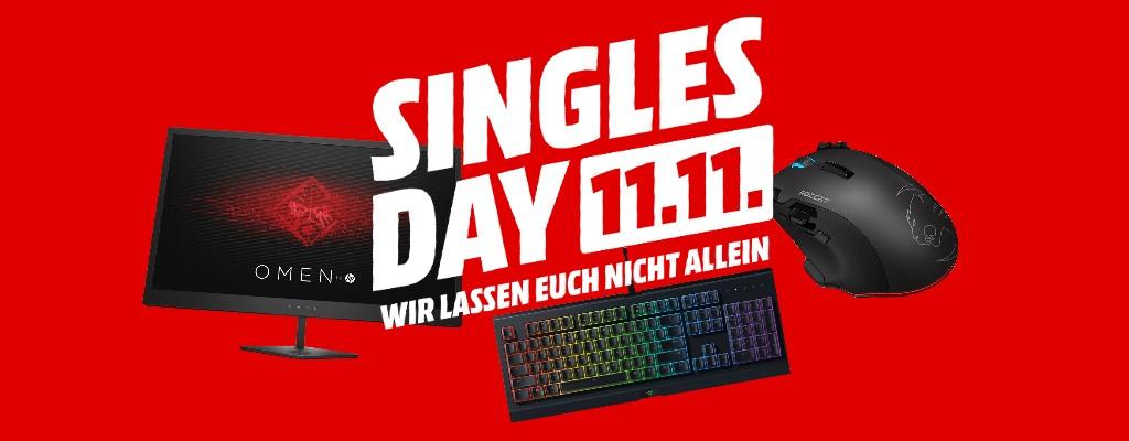 Singles Day bei MediaMarkt: Gaming-Hardware stark reduziert