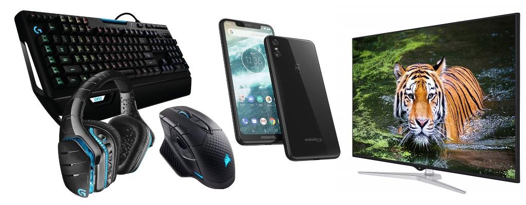 Amazon: Gaming-Zubehör, Motorola-Smartphones und UHD-TVs reduziert