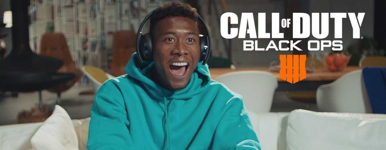 Seht die Fußball-Stars Ribery und Alaba in unserem Live-Stream zu Black Ops 4