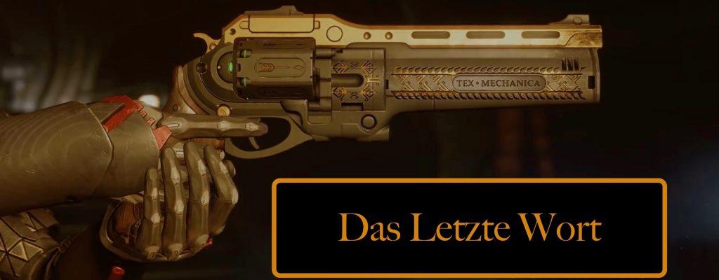 """Destiny 2: In 10 Schritten zu """"Das letzte Wort"""" – So schafft Ihr die Quest"""