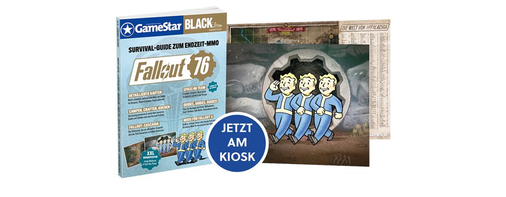 Ultimativer Survival-Guide für Fallout 76 jetzt am Kiosk