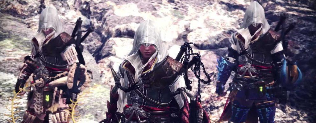 Assassin's Creed hat sich heimlich in Monster Hunter World geschlichen