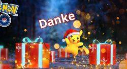 Pokémon GO Pikachu Danke