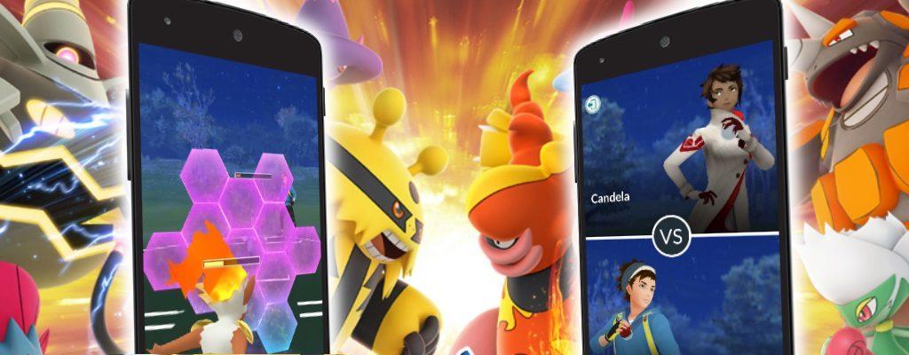 Pokemon GO PvP ist da
