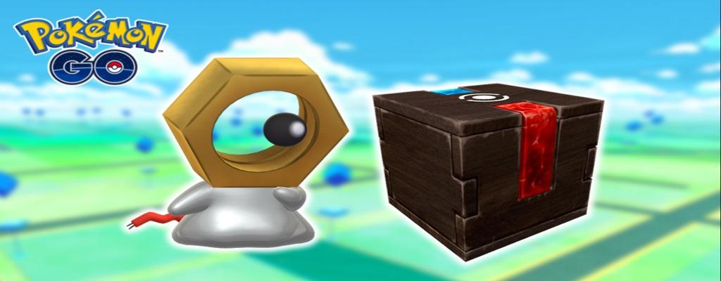 In Pokémon GO findet Ihr jetzt Shiny Meltan, Wunderboxen geändert