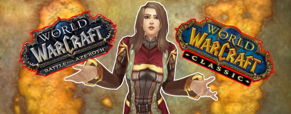 Tötet WoW Classic nun Battle for Azeroth? Das befürchten Spieler