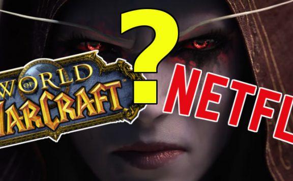 WoW Sylvanas warcraft logo Netflix title