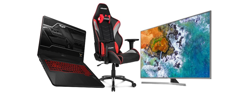 Alternate: Gaming-Notebook, Gaming-Stühle & UHD-Fernseher reduziert