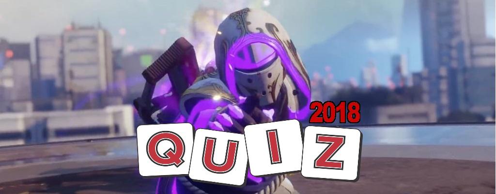 Das große MeinMMO-Quiz für Destiny & Destiny 2 zum Jahresende 2018