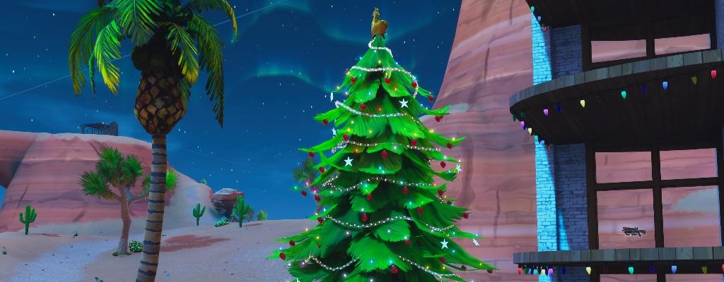 Fortnite: Hier sind die Festtagsbäume – Karte zeigt alle Fundorte