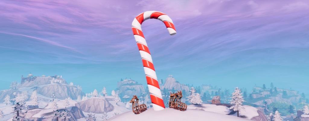 So findet ihr die Zuckerstangen in Fortnite für das Weihnachts-Event