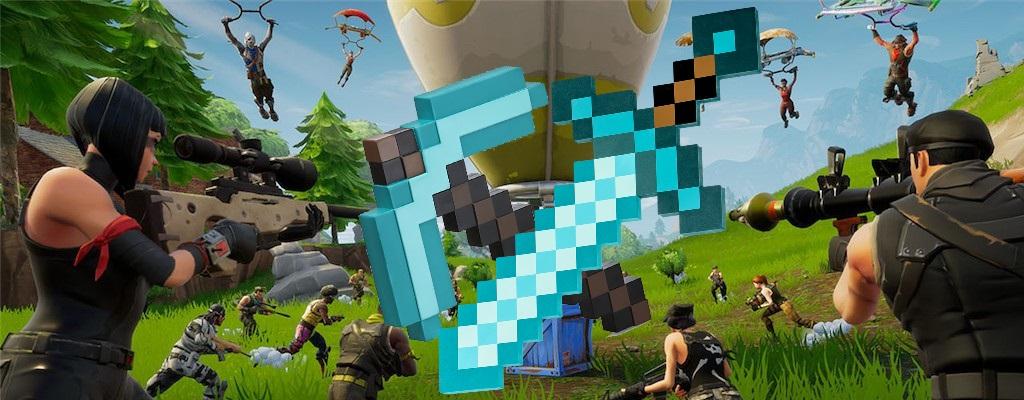 Die große Überraschung für Fortnite Season 7 ist … Minecraft?