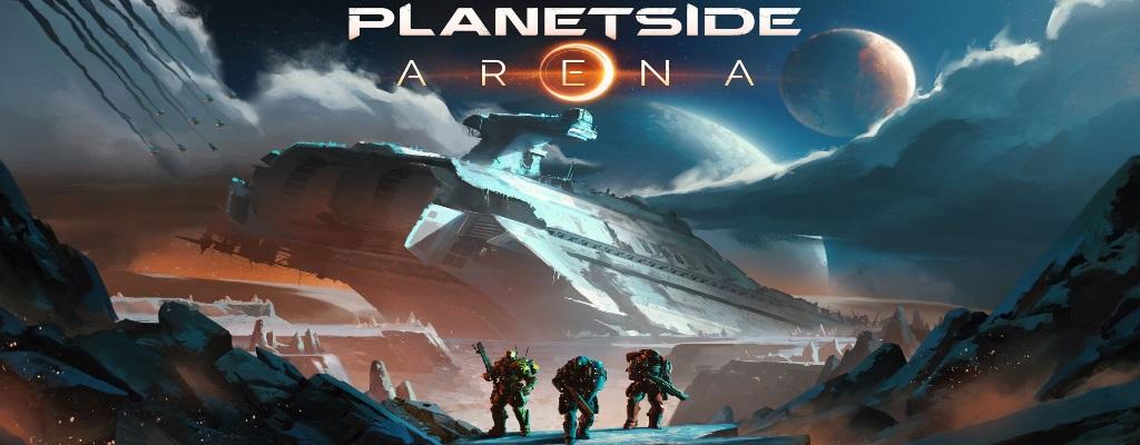 Planetside Arena will Battle Royale, Matches mit 1000 Spielern bieten