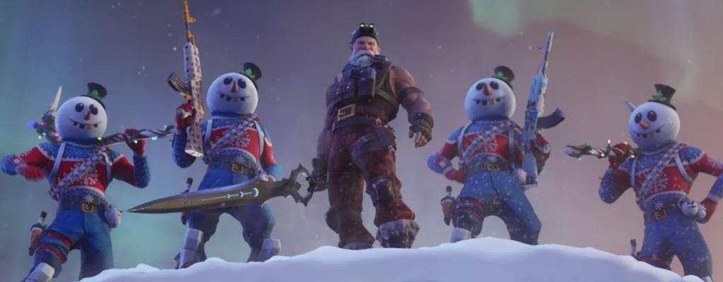 Fortnite: Trailer zu Season 7 zeigt Angriff des Weihnachtsmanns