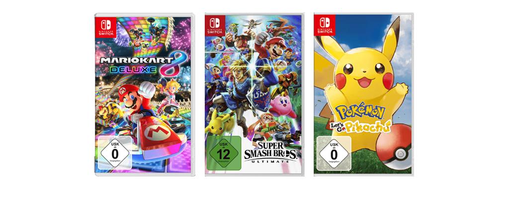 Kauft drei Spiele und bezahlt nur zwei bei MediaMarkt – Switch und PS4
