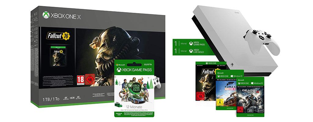 Amazon Winter-Angebote: Xbox One Bundles ab 180 Euro