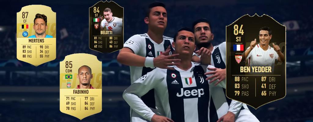 Die besten FIFA 19 Spieler der Community – Guter Preis, Top-Leistung
