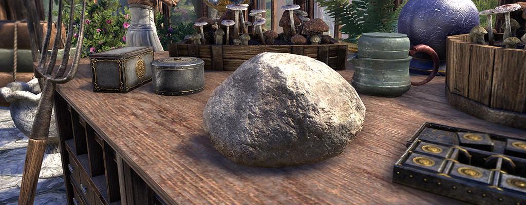 In ESO könnt Ihr vielleicht bald einen Stein als Haustier haben