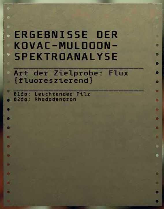 Fallout 76 Flux fluoreszierend