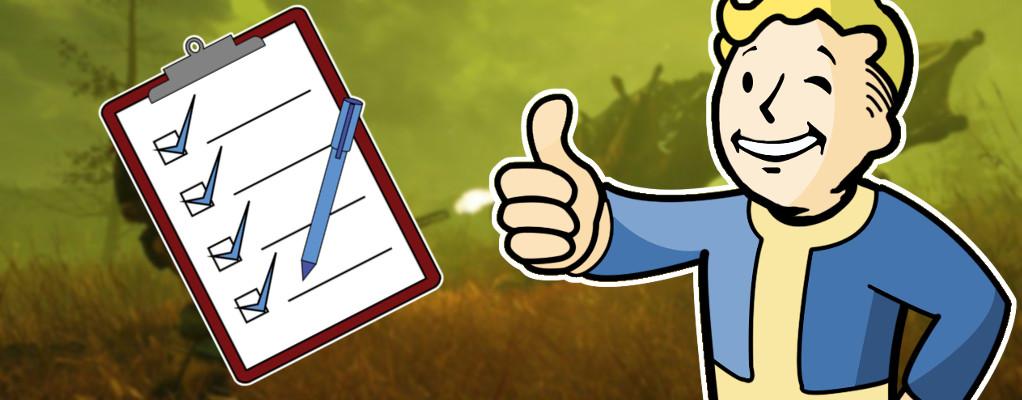 Fallout 76 hat ein neues Update – 7 Highlights aus den Patch Notes