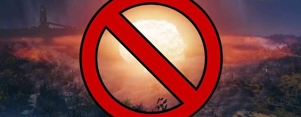 Fallout 76: Hotfix bringt verschwundene Atombomben zurück