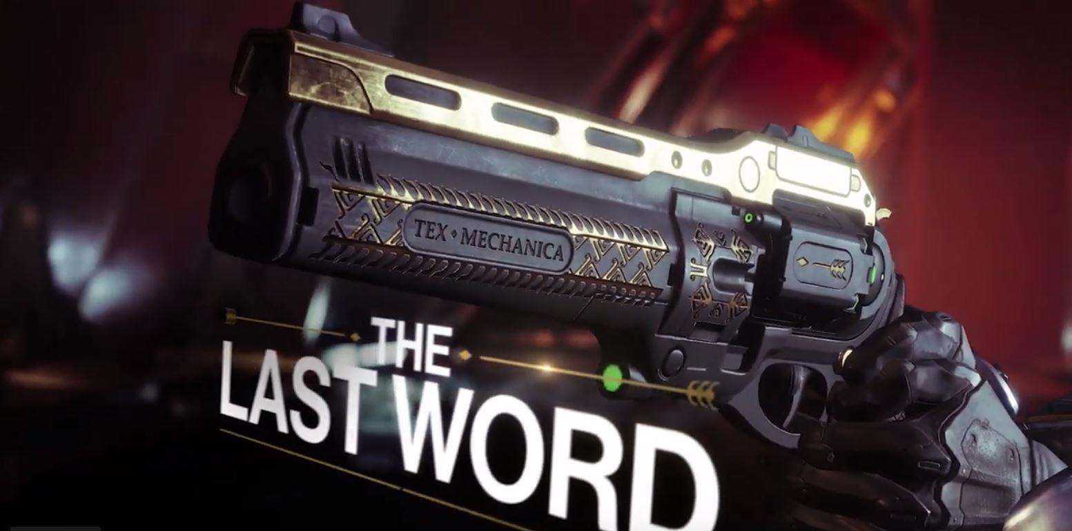 """Destiny 2 zeigt """"Last Word"""", aber eine andere Waffe ist der Star im Trailer"""