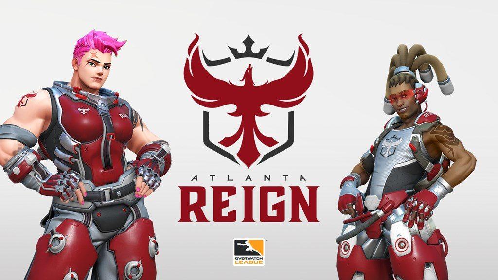 Overwatch League Atlanta Reign Icon