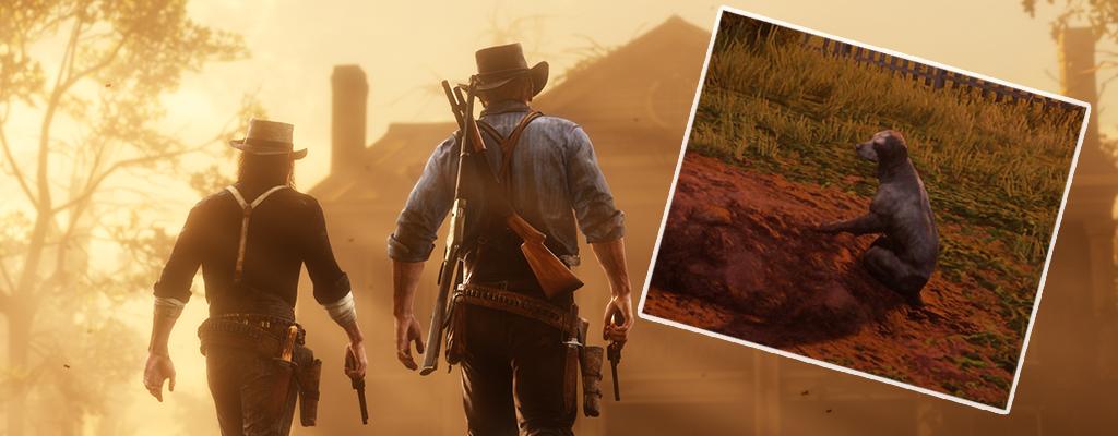Dieser Hund in Red Dead Redemption 2 erzählt eine traurige Geschichte