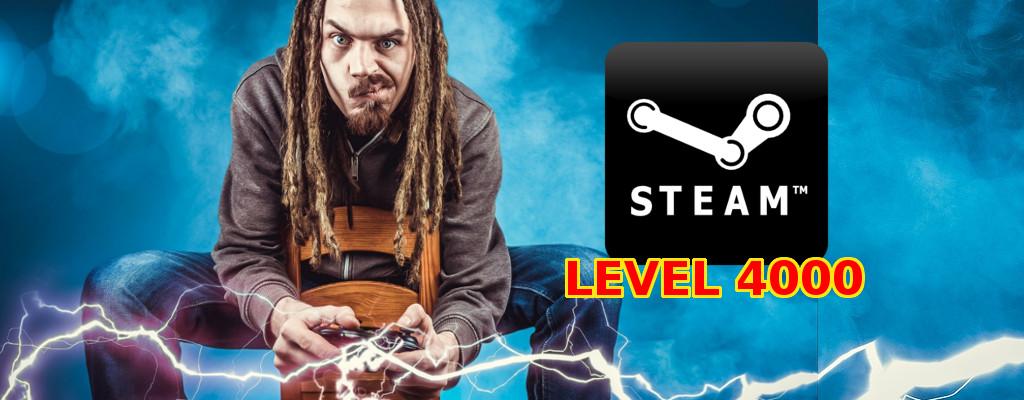 Verrückter Spieler erreicht Steam-Level 4.000, kostete nur knapp 220.000€