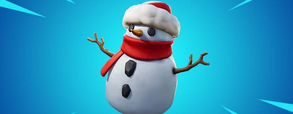 Das neue Item in Fortnite ist ein Schneemann und die Spieler lieben ihn