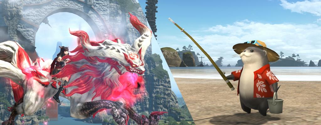 So findet ihr neue Mounts und Cosmetics aus Final Fantasy XIV 4.5
