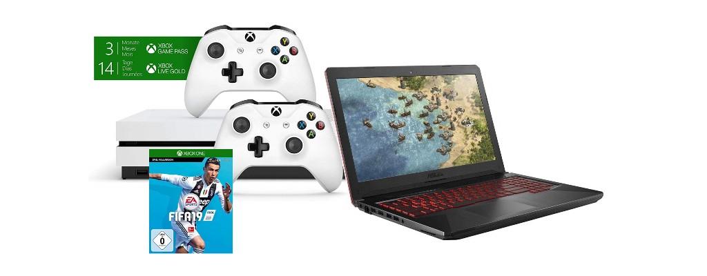 Amazon: Xbox-Bundles, Gold-Mitgliedschaft & Gaming-Notebook reduziert