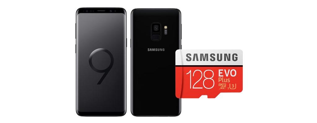 Amazon-Angebot: Samsung Galaxy S9 mit Speicherkarte für 499€ sichern