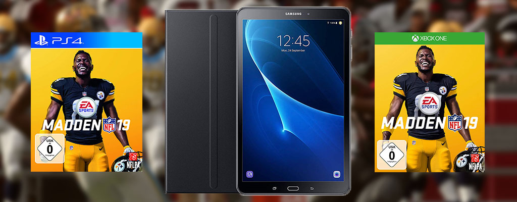 Exklusiv bei Amazon: Samsung Galaxy Tab A LTE im Bundle mit Bookcover